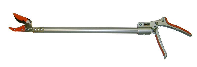 Сучкорез садовый Skrab, 1230 мм, SK5K100Сучкорез садовый 630мм.Быстрорежущая сталь SK5.Облегченный алюминиевый механизм.Сделано в Тайване.