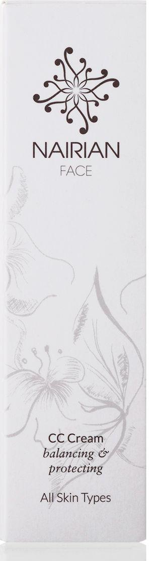 Nairian Тональный крем, для всех типов кожи, Оттенок телесный, 30 мл2443Color correction крем от Nairian. Стопроцентно натуральный и легкий тональник, который благодаря невесомой текстуре мгновенно и ровно ложится на кожу, помогая скорректировать тон, скрывая мимические морщинки, расширенные поры и сосуды. Содержащееся в креме эфирное масло цветков апельсина (нероли) обладает сильными тонизирующими и омолаживающими свойствами, а эфирное масло пальмарозы защищает кожу от пересыхания, балансируя количество влаги в эпителии. Кроме того, формула крема обладает солнцезащитным действием.