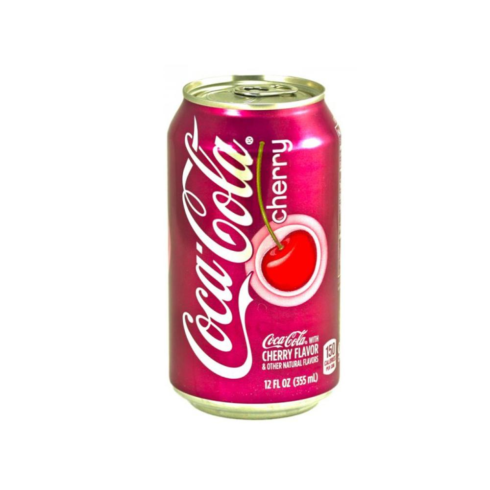 Coca-Cola Cherry напиток газированный 355 мл0120710Coca-Cola Cherry– прохладительный газированный напиток от бренда Coca-Cola с насыщенным вишневым вкусом. Попробуй новый яркий вкус!