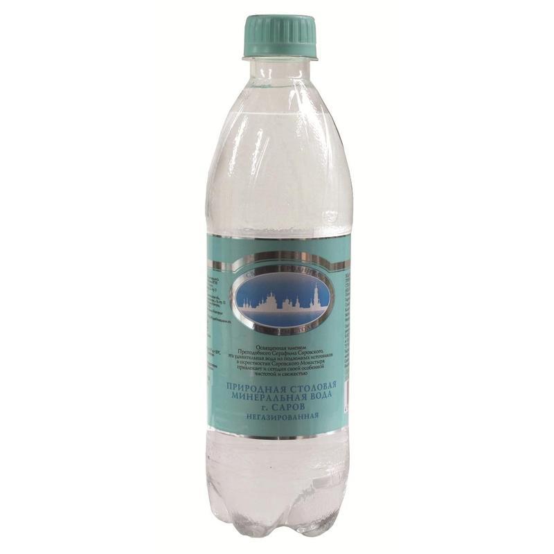 Серафимов Дар вода минеральная 0,5 л5060295130016Серафимов дар - натуральная негазированная минеральная вода. Это столовая вода, подходящая для каждодневного употребления в неограниченных количествах. Общая минерализация составляет 0,15 - 0,45 г/л.Минеральная вода Серафимов дар рекомендована к употреблению Российской академией медицинских наук. Она хорошо утоляет жажду, легко усваивается организмом и быстро выводит из него вредные продукты нашей жизнедеятельности. Ее чистота и изумительный вкус не раз были отмечены высшими наградами международных конкурсов.Название воды связано с именем святого преподобного чудотворца Серафима Саровского, в 1825 году поселившегося верстах в двух от монастыря, у Богословского родника. В дореволюционные времена вода из этого источника поставлялась к царскому столу, сегодня закупается службой обеспечения президента РФ.