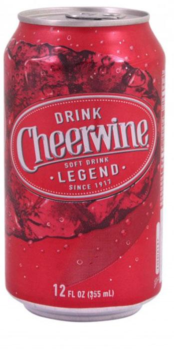 Cheerwine Originl напиток газированный, 355 мл70925000270Cheerwine – насыщенный вкус спелой вишни чернокорки. Традиционный напиток Северной Каролины. Вкус свежей вишни, напоминает молодое игристое вино.