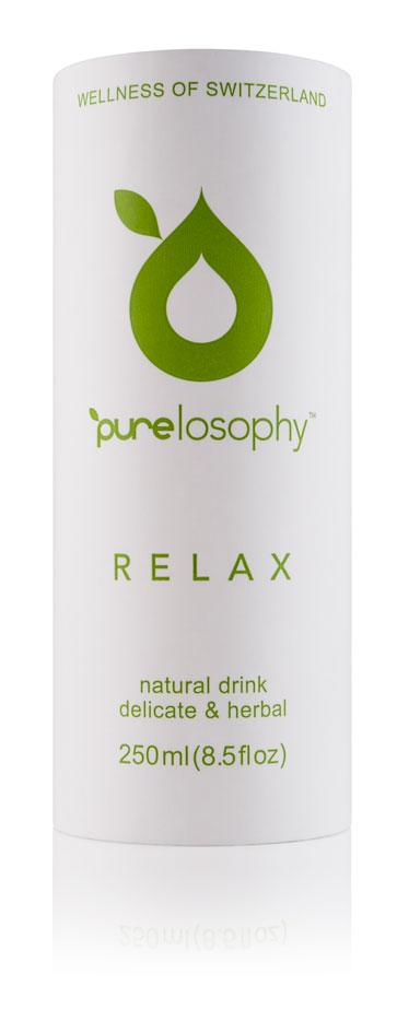 Purelosophy Relax напиток сокосодержащий релакс 0,25 л0120710Purelosophy RELAX представляет собой уникальный напиток, разработанный для снятия напряжения, чрезмерного возбуждения и бессоницы. Основные активные компоненты напитка - мелисса, хмель, ромашка, лаванда и перечная мята. Для того, чтобы вкус не напоминал лекарственное средство, в его состав добавили экстракты сока киви, груши и лимона, которые гармонично оттеняют травяной букет.
