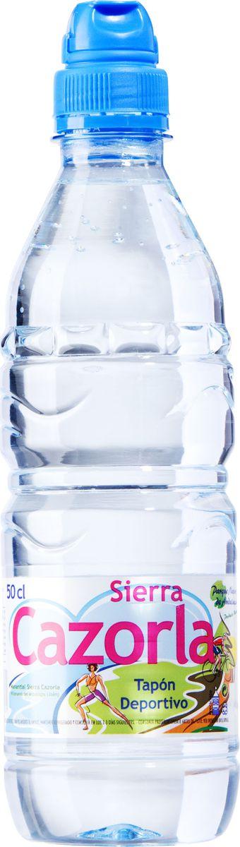 Sierra Cazorla спорт вода минеральная, 0,5 л8436011290031Sierra Cazorla - источник, находящийся на территории одноименного Биосферного Заповедника на юге Испании. Благодаря расположению в экологически чистом районе, далеком от промышленности и городской инфраструктуры, минеральная вода Sierra Cazorla выделяется на фоне остальных своим безупречным качеством и абсолютной чистотой. Вода Sierra Cazorla прекрасно утоляет жажду, подходит для диетического и детского питания. Она насыщена кальцием, магнием и гидрокарбонатами, поэтому хорошо восстанавливает водно-солевой баланс в организме.