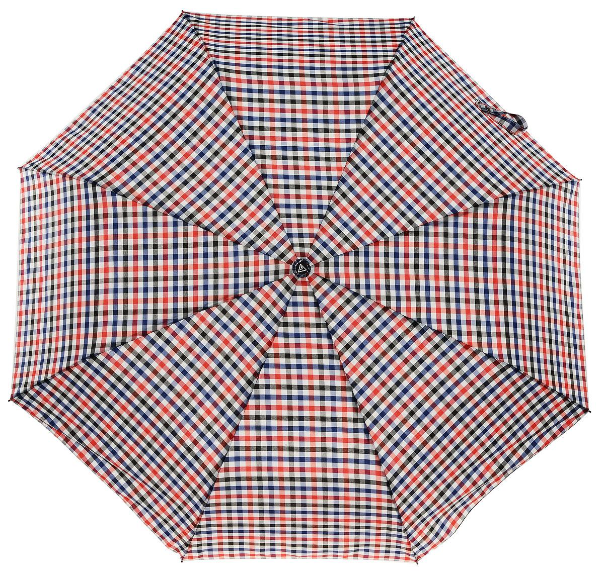 Зонт женский Fabretti, цвет: красный. FCH-8CX1516-50-10Классический зонт - полный автомат от итальянского бренда Fabretti. Материал купола - эпонж, обладает высокой прочностью и износостойкостью. Вода на куполе из такого материала скатывается каплями вниз, а не впитывается, на нем практически не видны следы изгибов. Эргономичная ручка сделана из высококачественного пластика-полиуретана с противоскользящей обработкой.