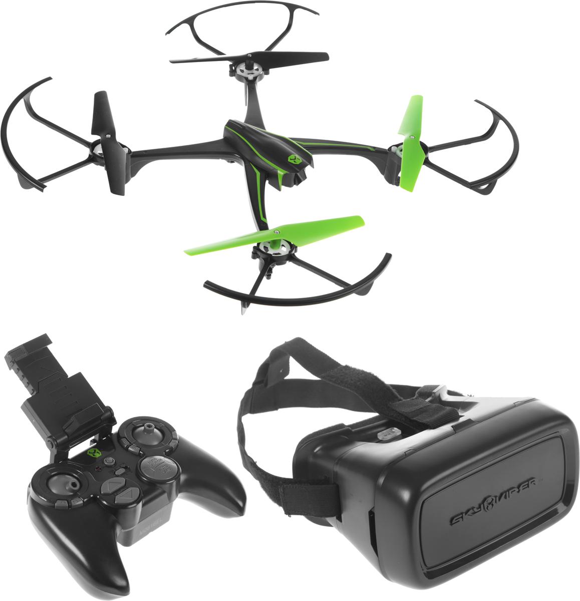 Sky Viper Квадрокоптер на радиоуправлении V2400FPV с очками виртуальной реальности