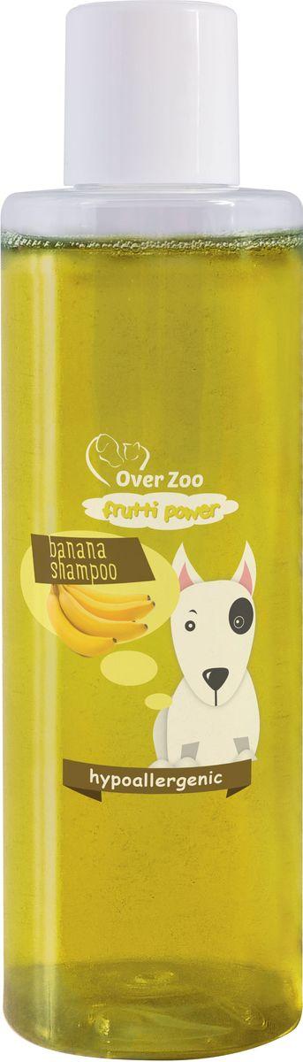 Шампунь OverZoo, гипоаллергенный, для собак всех пород, с ароматом банана, 200 мл5900232784462гипоаллергенный шампунь для собак всех пород с ароматом Банана