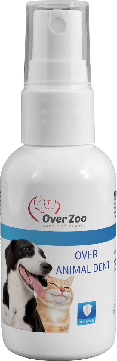 Спрей OverZoo, для гигиенической чистки и профилактики образования зубного камня полости рта у собак, 50 мл590023278448кСпрей OverZoo предназначен для гигиенической чистки и профилактики образования зубного камня полости рта у собак.