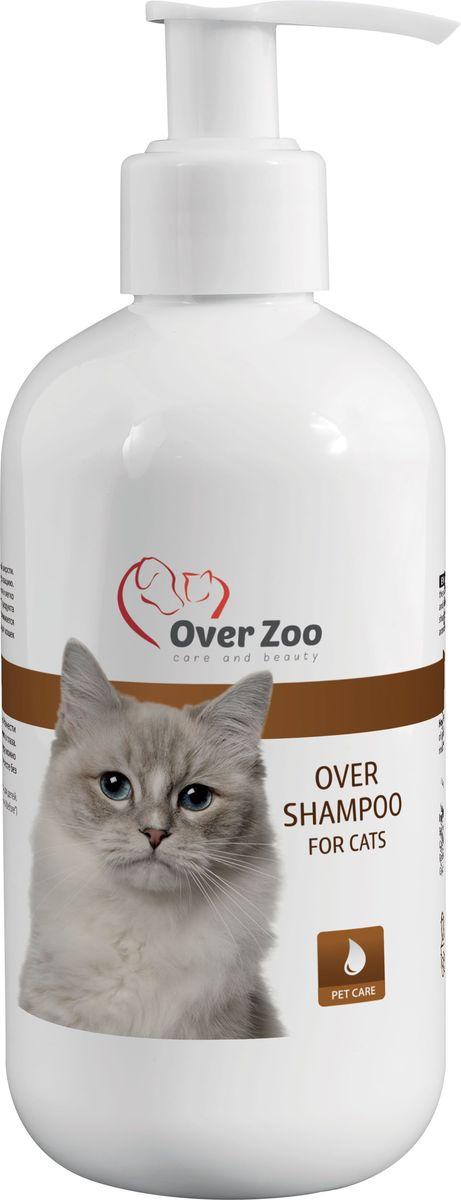 Шампунь OverZoo, для кошек, 250 мл590023278414Шампунь для кошек