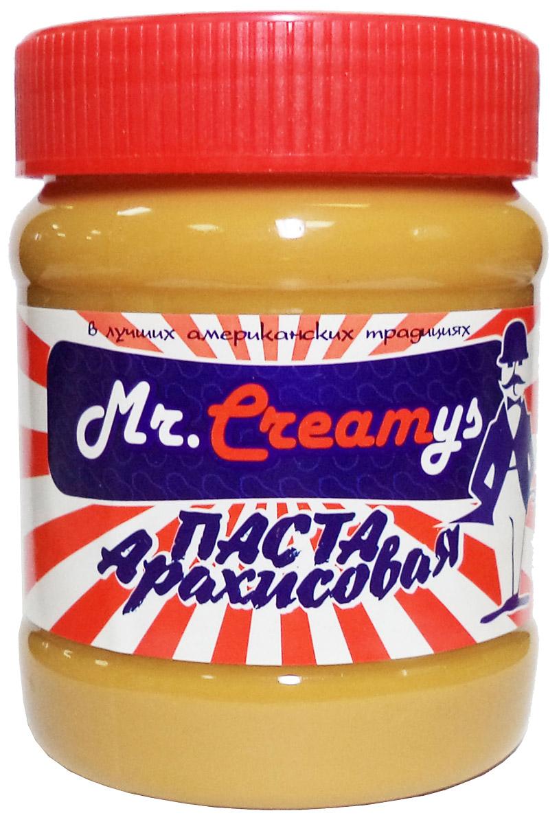 Mr. Creamys арахисовая паста классическая, 340 г0120710Классическая арахисовая паста производится с соблюдением строжайших требований к качеству и соответствует высшим мировым стандартам. Способов употребления арахисовой пасты достаточно много, но традиционно пасту принято намазывать на тост, печенье или просто кусочек свежего белого хлеба, а затем употреблять с чаем, молоком, какао или кофе.