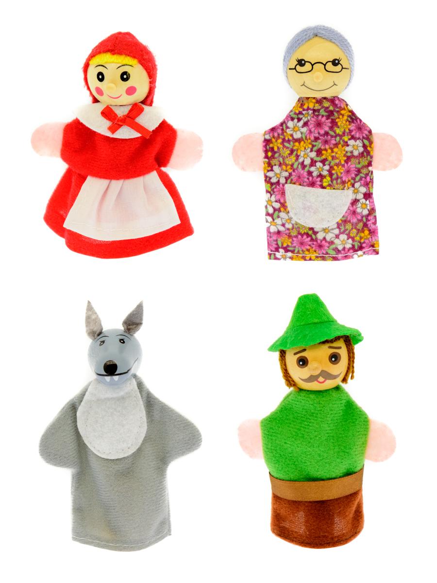 Анданте Кукольный театр Красная шапочка конструкторы happykon кукольный домик хэппидом коттедж с мебелью для кукол из дерева