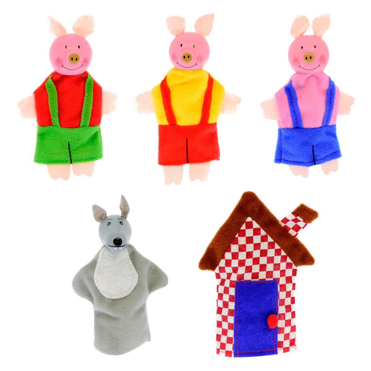 Анданте Кукольный театр Три поросенка кукольный домик для