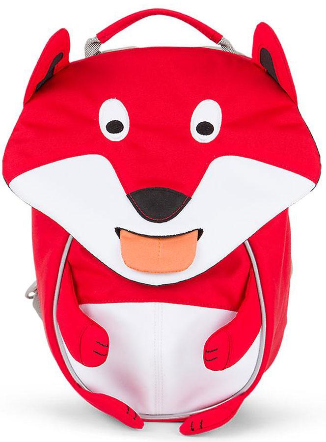 Affenzahn Рюкзак дошкольный Frida Fox цвет красный белый72523WDРюкзак, выполненный из прочного материала, предназначен для детей раннего возраста.Предусмотрена возможность регулировки лямочной системы, в частности, нагрудного ремня по высоте.Включает в себя вместительное внутреннее отделение с растягивающимся карманом.На ярлыке в виде высовывающегося языка можно написать имя ребёнка.Изделие оснащёно ручкой для переноски.Светоотражающие элементы на внешней стороне рюкзака повышают безопасность на улице.Спинка: Дышащая спинка
