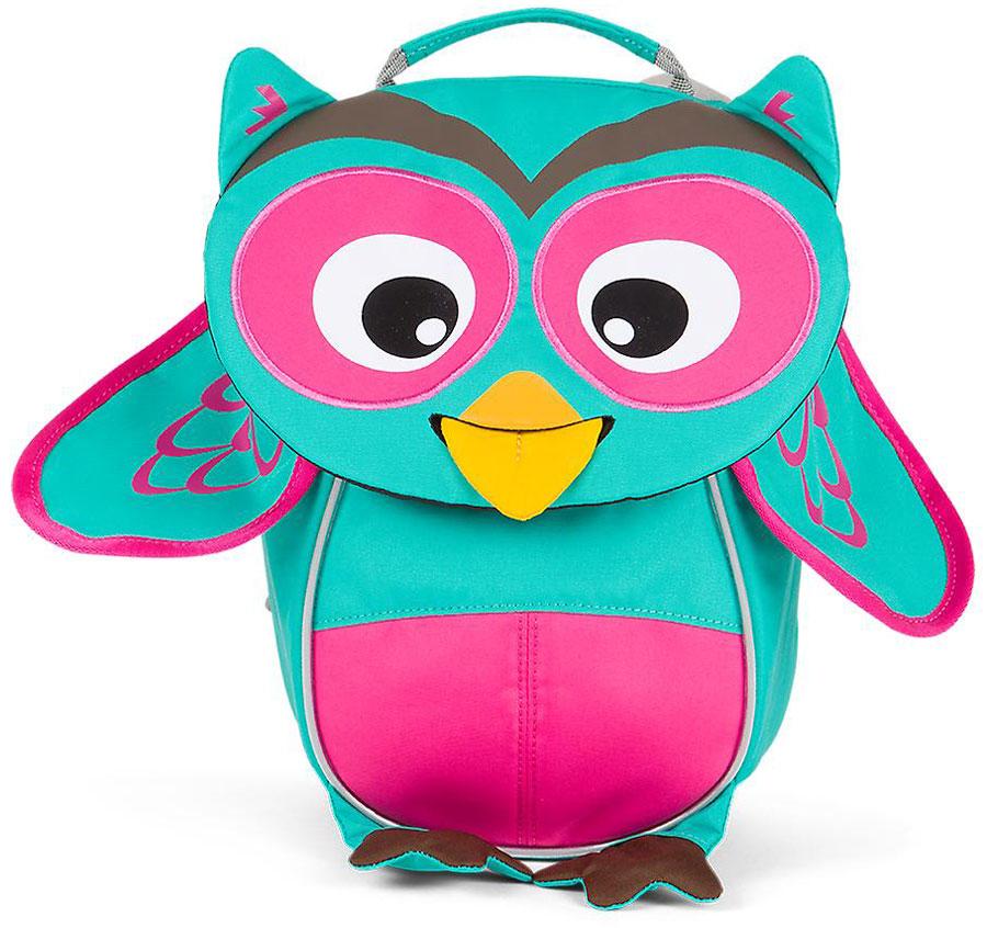 Affenzahn Рюкзак дошкольный Olivia Owl цвет бирюзовый розовый72523WDРюкзак, выполненный из прочного материала, предназначен для детей раннего возраста.Предусмотрена возможность регулировки лямочной системы, в частности, нагрудного ремня по высоте.Включает в себя вместительное внутреннее отделение с растягивающимся карманом.На ярлыке в виде высовывающегося языка можно написать имя ребёнка.Изделие оснащёно ручкой для переноски.Светоотражающие элементы на внешней стороне рюкзака повышают безопасность на улице.Спинка: Дышащая спинка