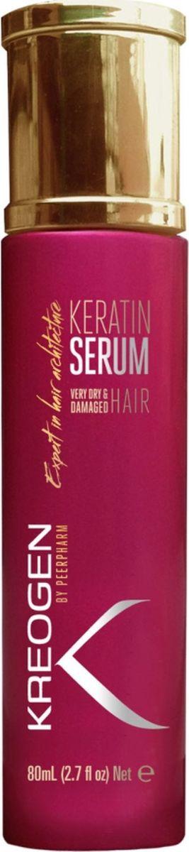 Kreogen Кератиновая сыворотка для очень сухих и поврежденных волос, Kreogen, 100 млMP59.4DОсновной активный ингредиент косметики Kreogen - кератин - чрезвычайно сильный протеин, основной компонент структуры волос.- 2 в 1: наносится ежедневно на мокрые волосы перед сушкой + 2 раза в неделю на ночь в качестве восстанавливающей маски;- обеспечивает длительную защиту и повышенную устойчивость волос к сушке, окраске, выгоранию и потере блеска;- мгновенно делает волосы гладкими и блестящими от корней до кончиков.
