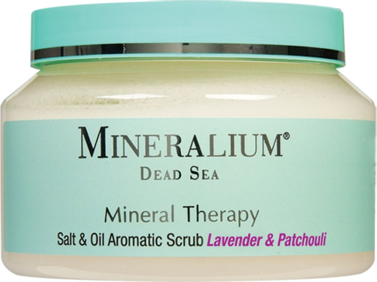 Minerallium Солевой скраб для тела «Лаванда и пачули», Minerallium 500 млMn6031Свежий нежирный отшелушивающий скраб для применения на влажную кожу после ванны или душа. Густая текстура не растекается.- нежно и мягко удаляет омертвевшие кожные клетки, шелушение и огрубевшие участки, является профилактикой целлюлита;- масла питают и увлажняют кожу, подтягивают и смягчают ее;- легкий эффект ароматерапии.