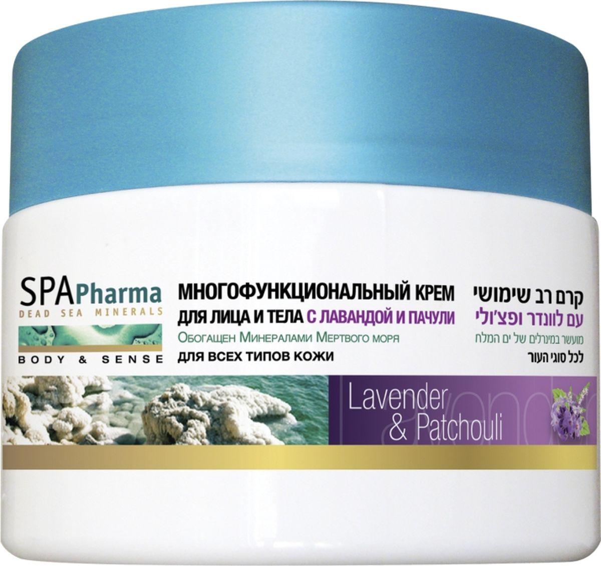 Spa Pharma Многофункциональный крем для лица и тела с лавандой и пачули, Spa Pharma 350 млFS-008973 в 1: успокаивает, омолаживает и питает даже глубокие слои эпидермиса.Масло лаванды обладает восстанавливающим и противоаллергенными эффектом, а масло пачули омолаживает кожу и делает ее более упругой. Густой жирный крем для лица и тела подходит всей семье, любому типу кожи.