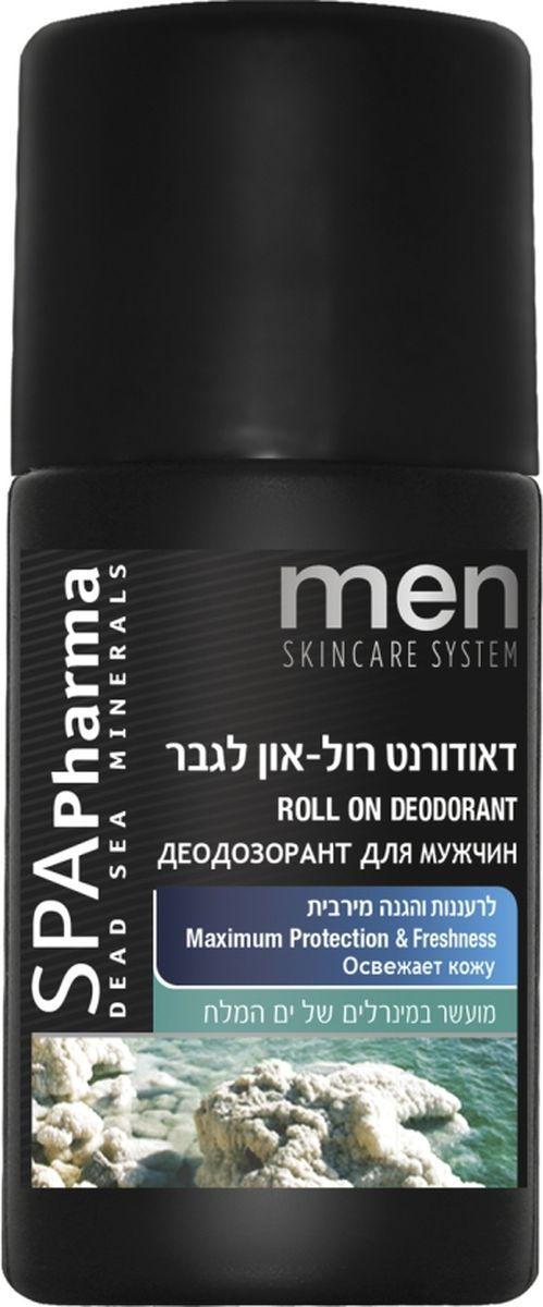 Spa Pharma Дезодорант для мужчин (освежающий и защищающий), Spa Pharma 60 млSPh1665Шариковый дезодорант-антиперспирант предотвращает появление неприятного запаха, защищает от потливости, освежает;- содержит природные ухаживающие ингредиенты (минералы, экстракты, масла), которые успокаивают и увлажняют кожу в случае раздражения после бритья;- имеет легкий аромат, который не перебивает запах парфюма;- не содержит спирта, поэтому не сушит кожу!