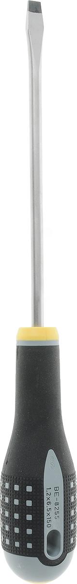 Отвертка плоская Bahco с расширяющимся жалом, 6,5 мм х 150 ммCM000001326Отвертка плоская Bahco предназначена для монтажа/демонтажа резьбовых соединений с применением значительных усилий.Особенности:Отвертка с рукояткой ERGO;3-компонентная рукоятка обеспечивает максимальный комфорт и передачу усилия;На рукоятку с обоих концов стойкой краской нанесена маркировка, позволяющая быстро идентифицировать отвертку;Рабочая часть из высококачественной легированной стали;Стержень полирован и хромирован, полностью закален. Характеристики: Материал: пластик, металл. Размер жала: 0,65 см х 15 см. Длина ручки: 12 см. Размеры упаковки: 27 см х 4 см х 4 см.