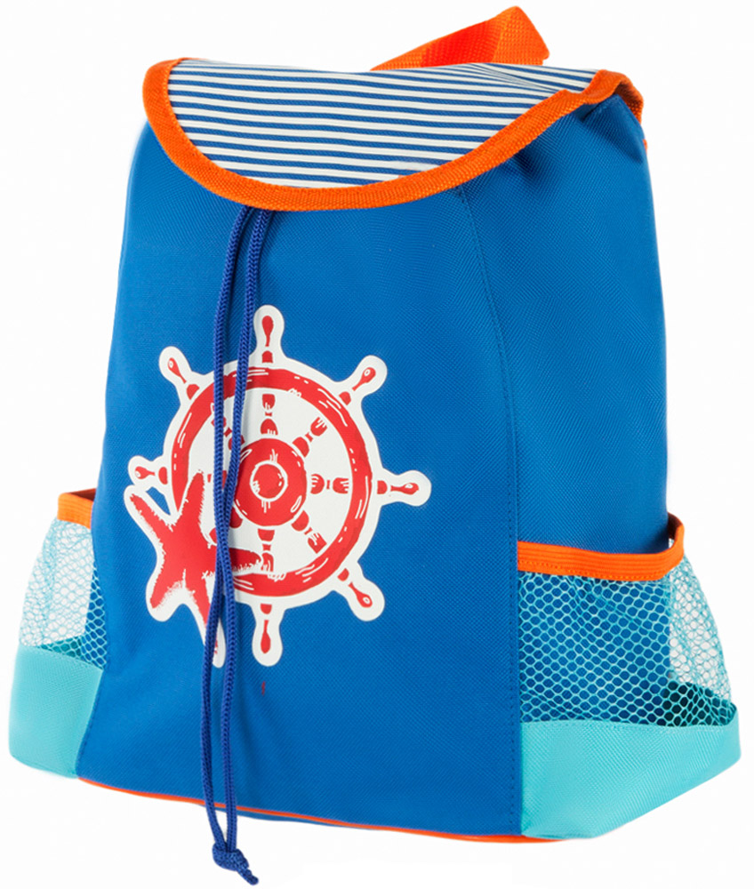 Mary Poppins Рюкзак дошкольный Море 530046530046Рюкзак дошкольный Mary Poppins Море - абсолютно универсальная модель. Он подойдет и маленькому джентльмену, и юной моднице.В рюкзак можно уместить множество полезных вещей: и книжки, и игрушки, и даже небольшие настольные игры! Основное отделение рюкзака закрывается с помощью затягивающегося шнурка. По бокам изделия располагаются два кармана-сетки. Рюкзак оснащен лямками регулируемой длины и текстильной ручкой для переноски в руке.