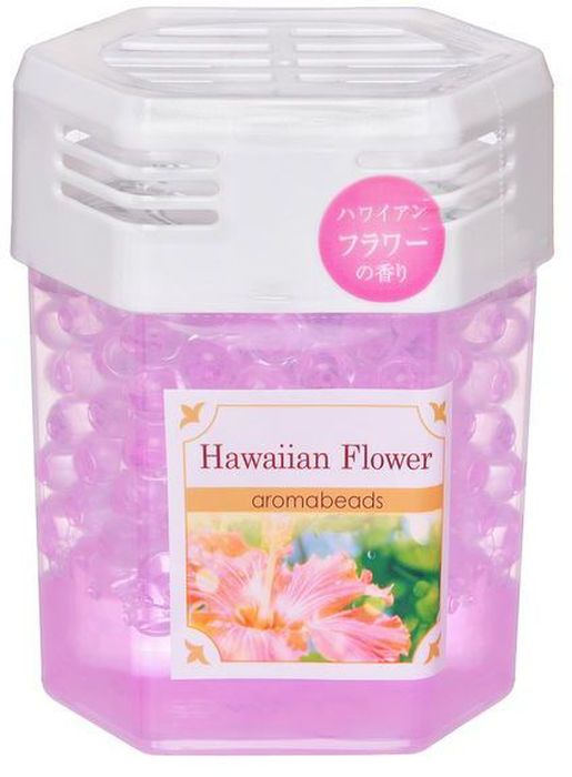 Освежитель воздуха Can Do, капсулы-шарики, с ароматом гавайских цветов, 200 г4521006464444