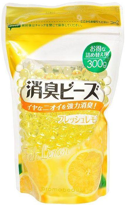 Освежитель воздуха Can Do Aromabeads. Свежий лимон, сменная упаковка, 300 г4521006487528