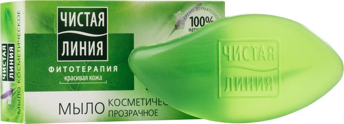 Чистая Линия твердое мыло экстракт Подорожника, 80 г