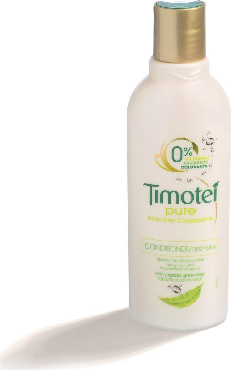 Timotei бальзам-ополаскиватель Мягкий уход, 200 мл21134360Бренд Timotei начал выпускать свою продукцию в 80-х годах прошлого века с одной целью: чтобы создавать средства с натуральными ингредиентами для ухода за волосами, эффективные и полезные. Каждый день Ваши волосы, подвергаясь воздействию вредных веществ, теряют свой естественный блеск. Мы уверены, что природа - лучший источник красоты волос. Поэтому специалисты Timotei много работают и раскрывают секреты природы, чтобы создавать средства с натуральными ингредиентами для ухода за волосами, питающие и приносящие отличные результаты.Timotei всегда был брендом средств по уходу за волосами, черпающим вдохновение у природы. Всё началось с одного-единственного шампуня с натуральными экстрактами трав - такого мягкого, что им можно было пользоваться каждый день. Это был наш первый успех.Многое изменилось с тех пор, но одно осталось неизменным - мы по-прежнему верим в силу природы, в то, что средства для волос Timotei - прекрасный способ ухаживать за ними и сегодня, и завтра. Ведь, в конце концов, сила природы безгранична, и мы можем получить от неё практически всё, что нам нужно, именно поэтому мы разрабатываем рецепты, содержащие натуральные ингредиенты, собранные со всей планеты, - чтобы наши средства сделали Ваши волосы еще более красивыми. Результат: Сила природы для красоты волос.Cредства по уходу за волосами Timotei содержат натуральные ингредиенты.Мы берем лучшее от природы, чтобы помочь Вам раскрыть Вашу красоту. Бальзам-ополаскиватель Timotei Pure Мягкий уход 200мл, обогащенный органическим экстрактом зеленого чая, помогает вернуть жизненную силу Вашим волосам, придавая им ощущение свежести, легкости и красоты.