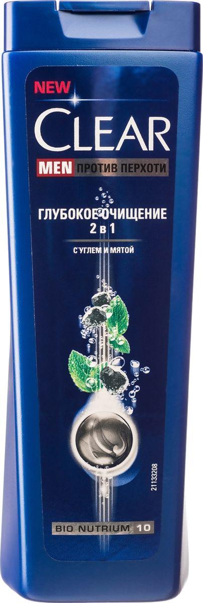 Clear Men, 2в1 шампунь и бальзам-ополаскиватель против перхоти для мужчин Глубокое очищение, 200 мл2720152Бренд CLEAR является лидером российского рынка шампуней и средств по уходу для мужчин и женщин. Впервые шампунь марки CLEAR появился в 1979 году в Великобритании. В России бренд представлен более 8 лет. CLEAR – единственный шампунь против перхоти, чьи инновационные формулы были одобрены Международной академией косметической дерматологии. CLEAR – первый бренд шампуней против перхоти, который разрабатывает свои продукты с учетом особенностей кожи головы и волос мужчин и женщин.Этот продукт довольно успешно прошел все исследования во Франции. Главной особенностью этого шампуня было наличие принципиально новой формулы. У компании Clear шампунь против перхоти имел активный элемент (цинковый пиритион) и полезные витамины, благодаря которым продукт не только избавлял от перхоти, но и эффективно ухаживал за кожей головы. Этот шампунь можно использовать каждый день, потому что он блестяще себя проявил во всех исследованиях. Кожа головы мужчин и женщин принципиально отличается. Причины появления перхоти и других заболеваний у них тоже различные, а значит, и лечить нужно разными методами. Компания Clear разработала совершенно разные формулы шампуней для борьбы с перхотью у женщин и мужчин. По статистике перхоть чаще появляется у мужчин и имеет неприятные последствия. Кожа головы быстро жирнеет, и волосы становятся склонными к выпадению. В шампуне Clear содержится Pro-Nutrium10 с элементами цинка, пиритиона. Эти элементы быстро устраняют причины, по которым появилась перхоть, а заодно и борются с последствиями. Красивые и здоровые волосы – мечта каждого. Но на сегодняшний день очень актуальна проблема образования перхоти. И этот вопрос сейчас беспокоит не только женщин, но и мужчин. Шампунь Clear поможет вам справиться с этой проблемой и избавиться от перхоти навсегда.Созданный специально для мужчин Шампунь Глубокое очищение 2 в 1 с активированным углем и мятой глубоко очищ