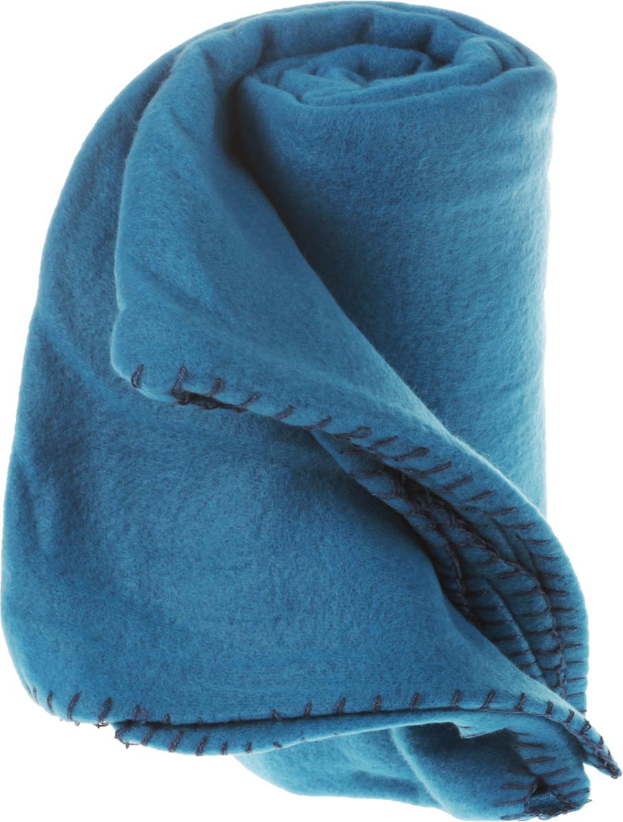 Покрывало флисовое Диана, цвет: голубой, 130 х 150 смFA-5125 WhiteИзящное покрывало Диана, выполненное из флиса (100% полиэстер), гармонично впишется в интерьер вашего дома и создаст атмосферу уюта и комфорта. Флис имеет фактуру велюра, ткань приятная на ощупь, мягкая и слегка пушистая, но при этом очень легкая, хорошо сохраняет тепло, устойчива к стирке и износу. Благодаря мягкой и приятной текстуре, глубоким и насыщенным цветам, такое покрывало станет модной, практичной и уютной деталью вашего интерьера. Покрывало согреет в прохладную погоду и будет превосходно дополнять интерьер вашей спальни. Высочайшее качество материала гарантирует безопасность не только взрослых, но и самых маленьких членов семьи.Покрывало может подчеркнуть любой стиль интерьера, задать ему нужный тон - от игривого до ностальгического. Покрывало - это такой подарок, который будет всегда актуален, особенно для ваших родных и близких, ведь вы дарите им частичку своего тепла!