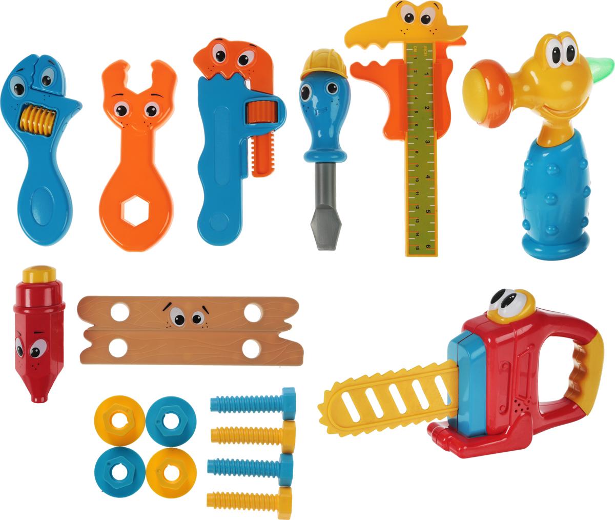 1TOY Игровой набор Малыш-профи 17 предметов