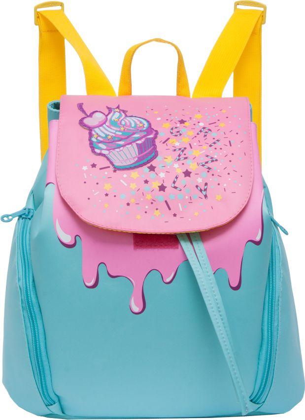 Рюкзак городской женский Grizzly, цвет: голубой, розовый, 9,8 лRD-749-1Рюкзак Grizzly изготовлен из высококачественного нейлона и выполненв оригинальном дизайне. Изделие имеет одно отделение, объемные боковые карманы на молнии, внутренний карман на молнии, внутренний карман-пенал для карандашей, мягкую спинку и мягкие лямки. Рюкзак закрывается затягивающимся шнуром и клапаном.
