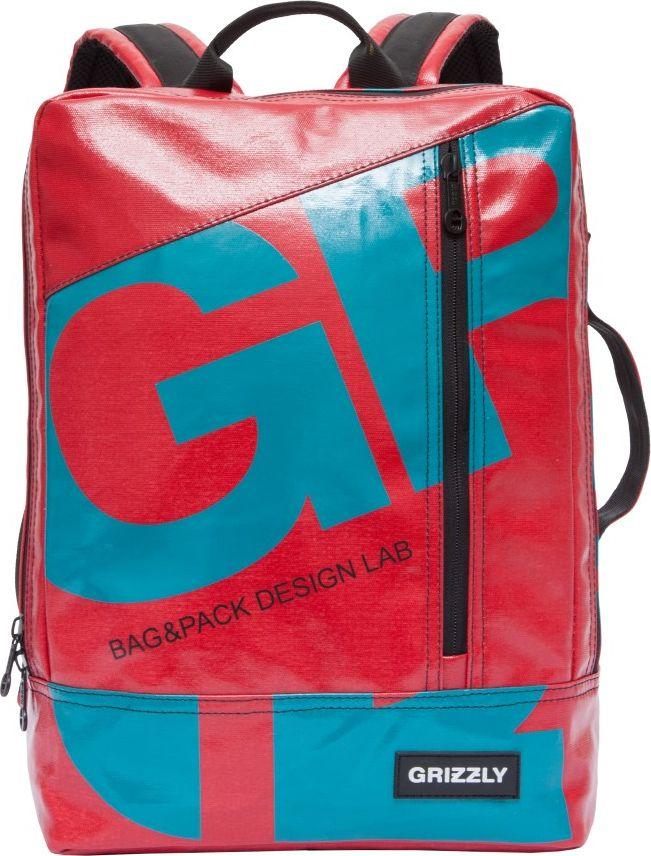 Рюкзак городской мужской Grizzly, цвет: красный, 8,9 л. RU-705-1MHDR2G/AРюкзак молодежный, одно отделение, карман на молнии на передней стенке, внутренний укрепленный карман для ноутбука, укрепленная спинка, карман быстрого доступа на задней стенке, дополнительная ручка-петля, укрепленные лямки