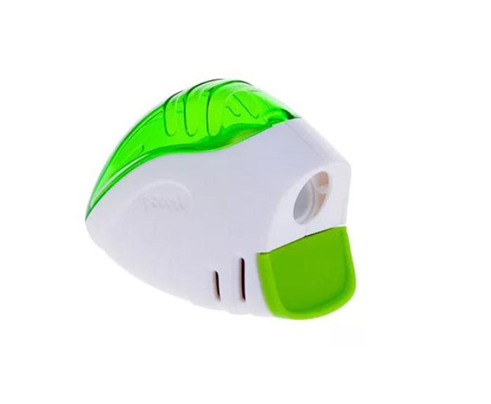 Точилка Maped Signal, цвет: салатовый, белый40017_салатовыйТочилка Signal первая в мире точилка, сигнализирующая о том, что карандаш заточен! Для заточки: нажмите на кнопку, заточите карандаш, как только грифель станет достаточно острым, кнопка автоматически поднимется вверх.