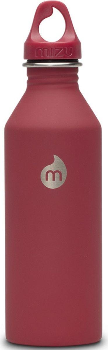 Бутылка для воды Mizu M8, цвет: красный, 800 мл813551020201Бутылка Mizu M8 из пищевой нержавеющей стали подойдет для тех, кто заботится об окружающей среде и своем здоровье. Корпус украшен логотипом NIXON. Ее удобно брать с собой, пригодится в поездке, походе или на рыбалке.Объем: 800 мл. Обхват: 24 см. Диаметр: 7 см. Высота (с крышкой): 26 см.