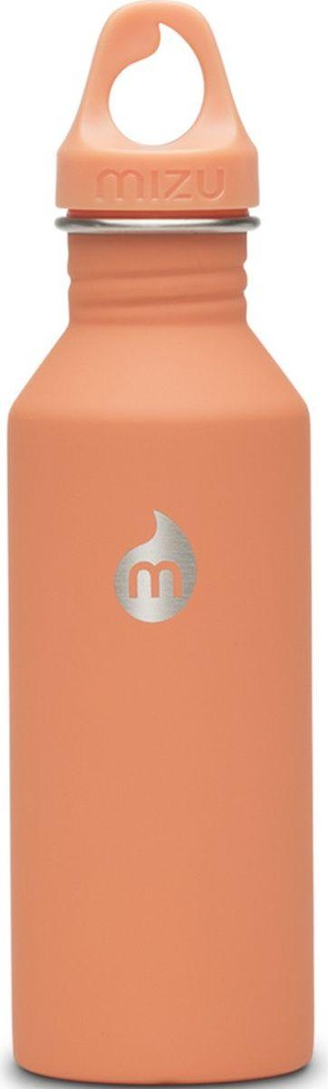 Бутылка для воды Mizu M5, цвет: персиковый, 530 млAS009Бутылка Mizu из пищевой нержавеющей стали, более легкий и миниатюрный вариант модели M8. Не для горячих жидкостей. Объем: 530 мл. Не содержит вредного BPA. Материал: пищевая нержавеющая сталь сорта 18/8