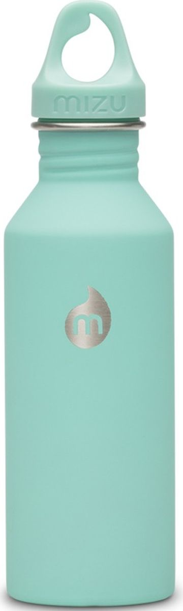 Бутылка для воды Mizu M5, цвет: мятный, 530 мл813551022793Легкая и миниатюрная бутылка Mizu M5 из пищевой нержавеющей стали подойдет для тех, кто заботится об окружающей среде и своем здоровье. Не содержит вредного BPA. Ее удобно брать с собой, пригодится в поездке, походе или на рыбалке.Объем: 530 мл.