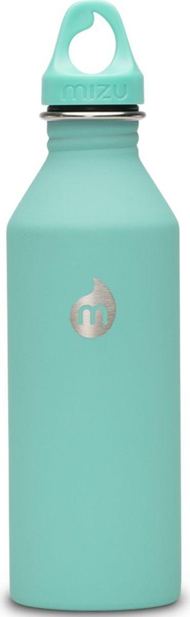 Бутылка для воды Mizu M8, цвет: ментоловый, 800 мл813551023042Бутылка Mizu M8 из пищевой нержавеющей стали подойдет для тех, кто заботится об окружающей среде и своем здоровье. Корпус украшен логотипом NIXON. Ее удобно брать с собой, пригодится в поездке, походе или на рыбалке.Объем: 800 мл. Обхват: 24 см. Диаметр: 7 см. Высота (с крышкой): 26 см.