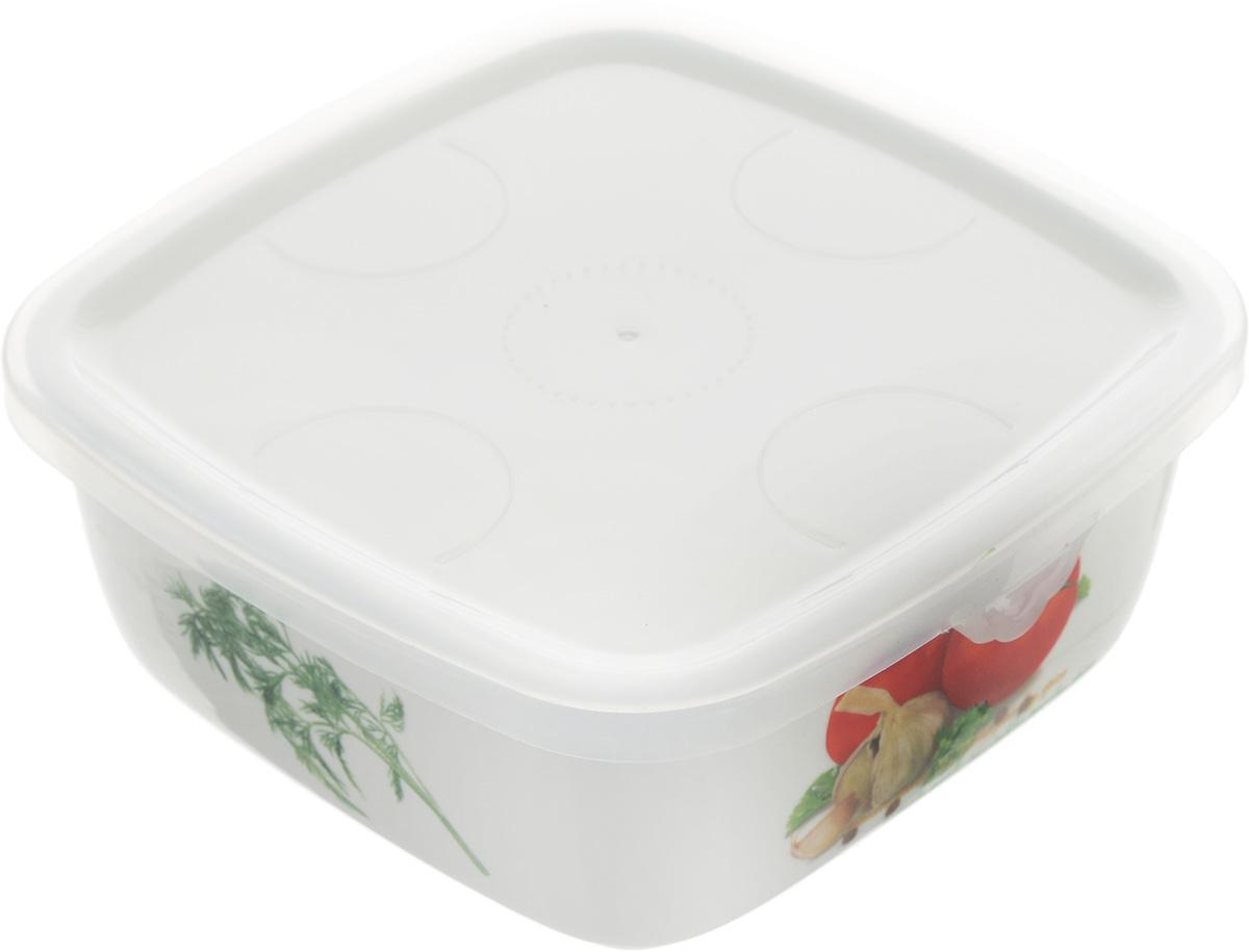 Блюдо для холодца Elan Gallery Помидоры, с крышкой, 700 мл101147Блюдо для холодца Elan Gallery Помидоры, изготовленное из высококачественной керамики, предназначено для приготовления и хранения заливного или холодца. Пластиковая крышка, входящая в комплект, сохранит свежесть вашего блюда. Также блюдо можно использовать для приготовления и хранения салатов. Оформлено изделие оригинальным рисунком. Такое блюдо украсит сервировку вашего стола и подчеркнет прекрасный вкус хозяйки.Не использовать в микроволновой печи. Размер блюда (Д х Ш х В): 16 см х 16 см х 6,5 см.