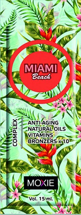 MOXIE Косметика для загара Miami Beach, 15 мл82Для тела, с комплексом 10 кратных бронзаторов, ДГА, увлажняющее средство, с ускорителями и усилителями. Ультра интенсивные бронзаторы в сочетании с ускорителем загара обеспечивают мгновенный эффект загара, темный, глубокий цвет кожи и пролонгируют достигнутый эффект. Превосходно увлаженная и обновленная кожа, обеспеченна отличным уходом и неповторимым запахом.