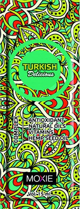 MOXIE Косметика для загара Turkish Delicious, 15 мл74Усилитель загара, без бронзаторов, с Омолаживающим и витаминным комплексом. Превосходный ускоритель загара обеспечивает натуральный цвет загара, отличное увлажнение и уход за кожей. Очень легко наносится и проникает в кожу. Специальная формула с L- TYROSINE быстро подготовит Вашу кожу к красивому глубокому загару. Оставляет после себя нежный запах.