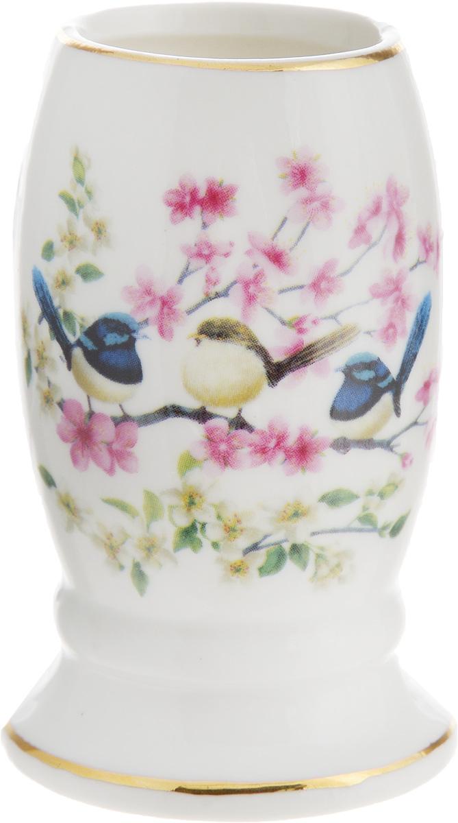 Вазочка под зубочистки Elan Gallery Райские птички115510Изящная вазочка под зубочистки Elan Gallery Райские птички украсит ваш стол и подойдет в качестве подарка для близких людей. Изделие имеет подарочную упаковку.