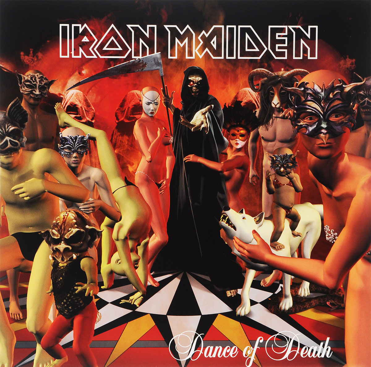 Iron Maiden Iron Maiden. Dance Of Death (2 LP) iron maiden – the book of souls live chapter 3 lp