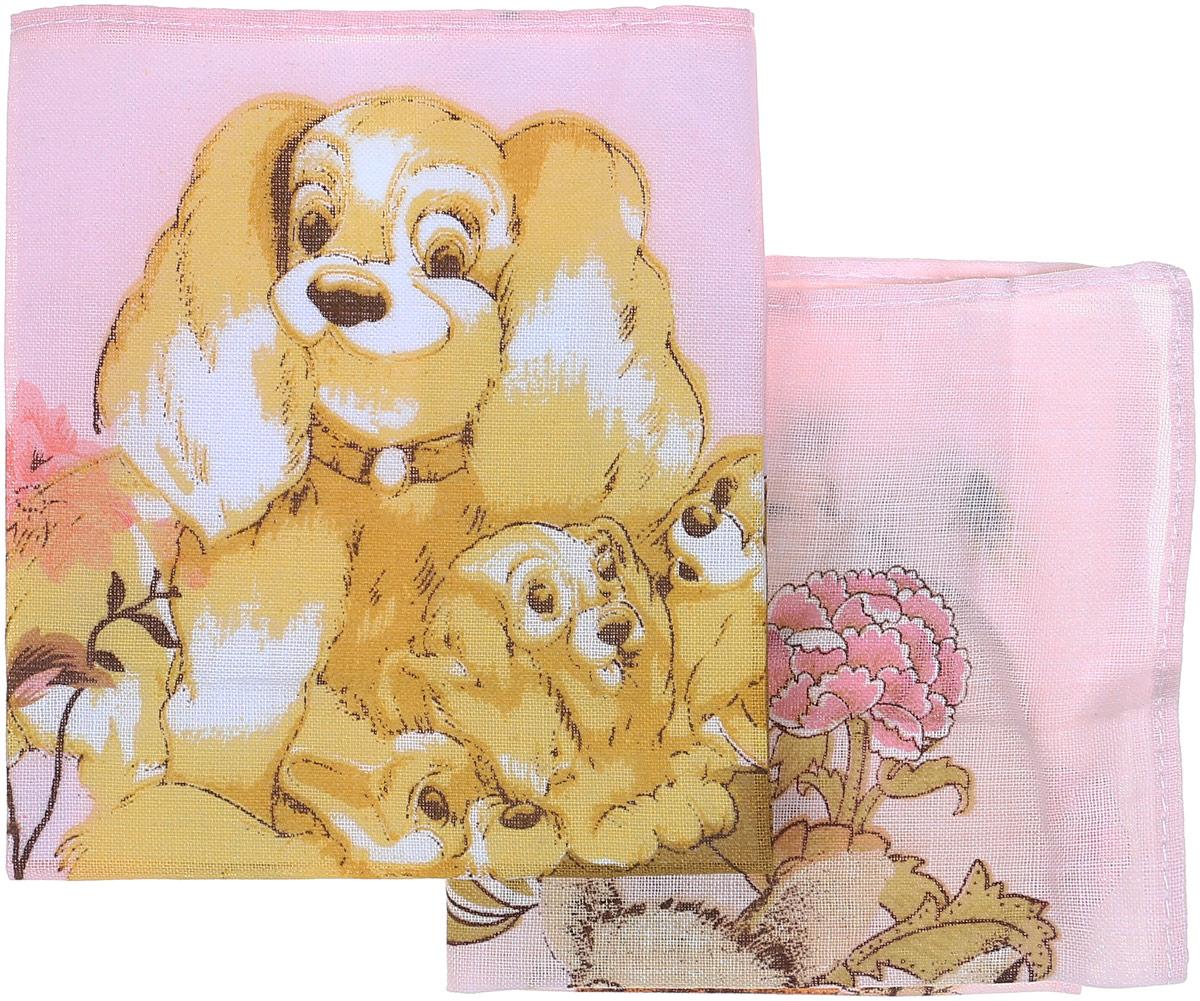 Платок носовой детский Zlata Korunka Спаниель, заяц, цвет: желтый, 2 шт. 40230-33. Размер 21 см х 21 смСерьги с подвескамиПлаток носовой детский Zlata Korunka Спаниель, заяц, цвет: желтый, 2 шт. 40230-33. Размер 21 см х 21 см