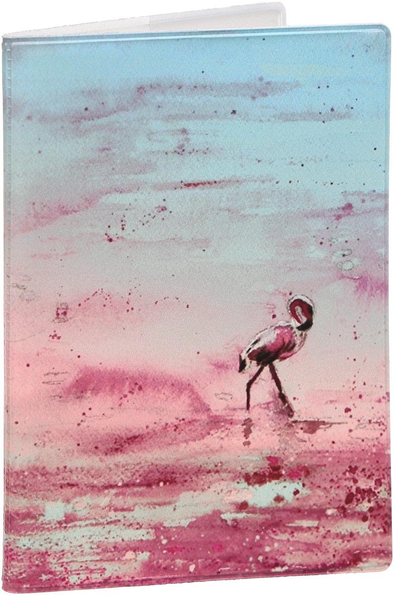 Обложка для паспорта Kawaii Factory Фламинго, цвет: розовый. KW064-000288KW064-000288Обложка для паспорта от Kawaii Factory - оригинальный и стильный аксессуар, который придется по душе истинным модникам и поклонникам интересного и необычного дизайна.Качественная обложка выполнена из легкого и прочного ПВХ с приятной фактурой, который надежно защищает важные документы от пыли и влаги. Рисунок нанесён специальным образом и защищён от стирания.Изделие раскладывается пополам. Внутри размещены два накладных кармашка из прозрачного ПВХ.