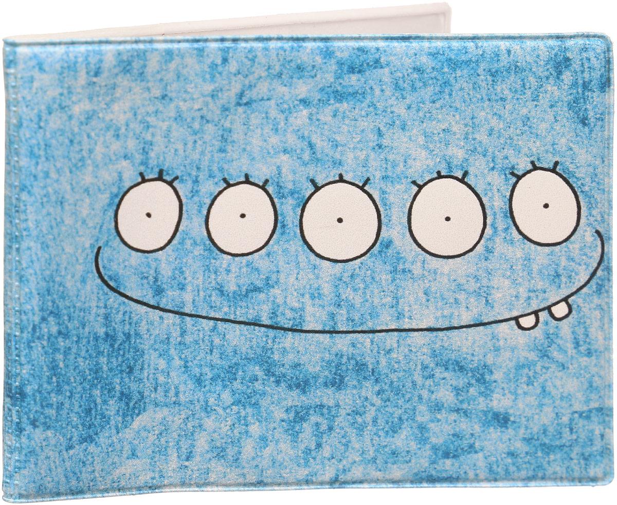 Обложка для студенческого билета Kawaii Factory Совесть, цвет: голубой. KW067-000070W16-11135_914Обложка для студенческого билета Kawaii Factory Совесть выполнена из легкого и прочного ПВХ, который надежно защищает важные документы от пыли и влаги. Рисунок нанесён специальным образом и защищён от стирания. Изделие раскладывается пополам. Внутри размещены два накладных прозрачных кармашка.
