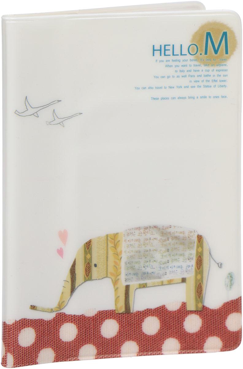 Обложка для паспорта Kawaii Factory  Элли , цвет: белый. KW064-000179 - Обложки для паспорта