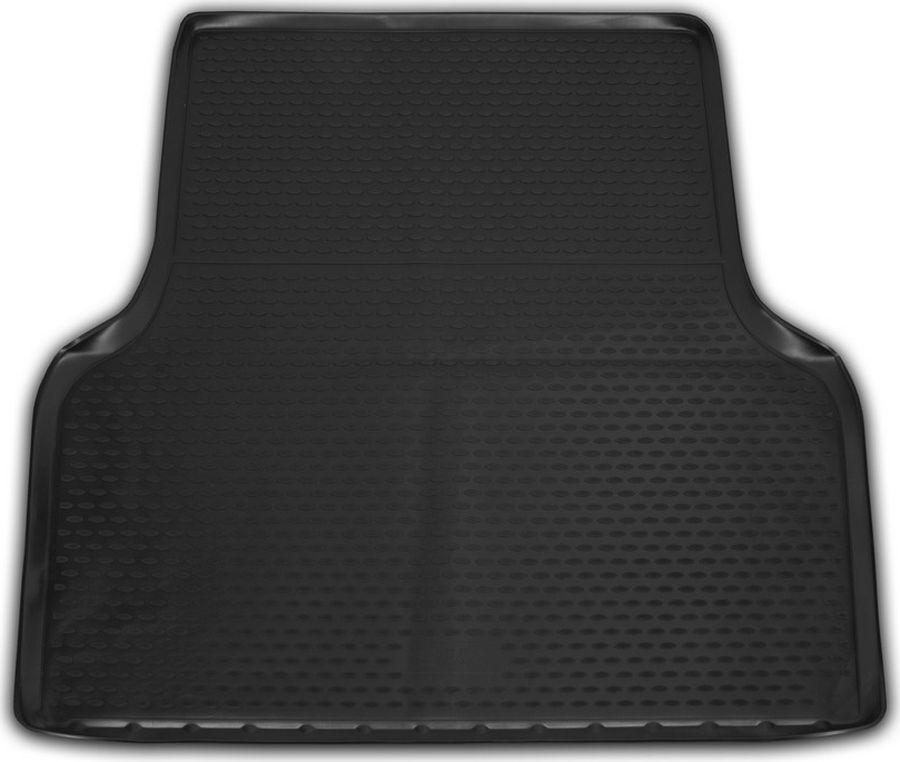 Коврик автомобильный Novline-Autofamily, для автомобиля ISUZU D-Max, 2016->, Пик. Кор.,1 шт., цвет: черный, в багажникст18фКачественный продукт, новый полимерный материал, антискользящий рельеф, идеальная подходимость, гигиенические сертификаты, экспортируются в западную Европу. Три цвета на выбор - серый, бежевый, черный.