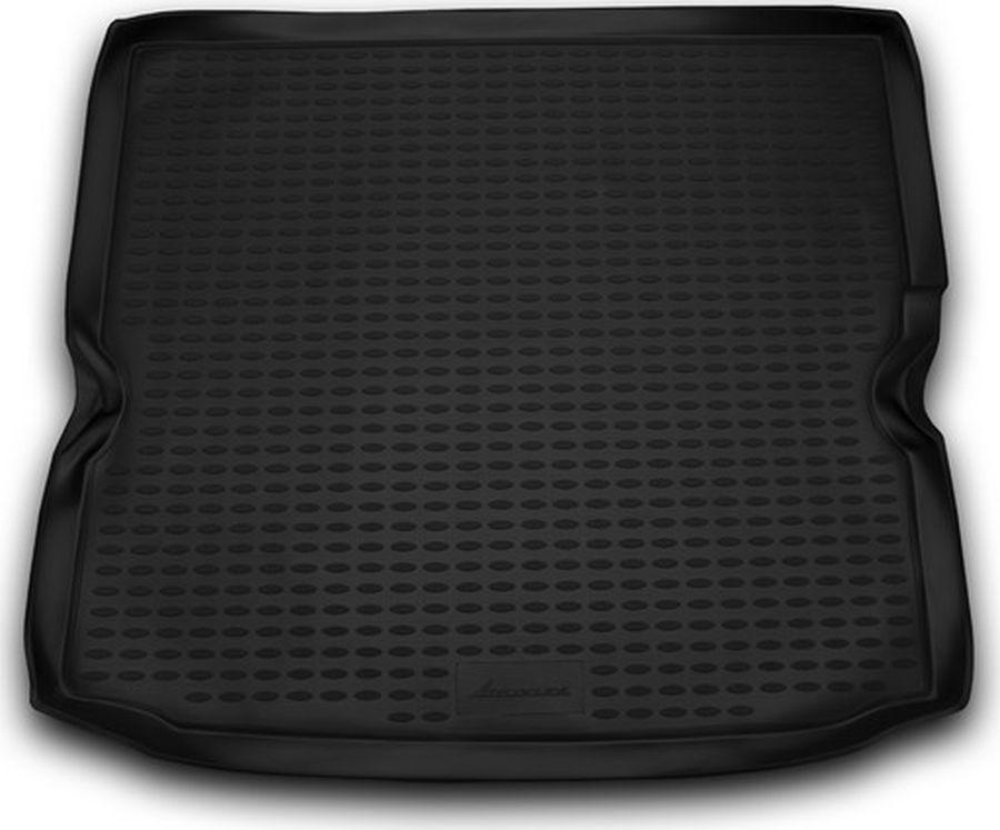 Коврик автомобильный Novline-Autofamily, для автомобиля OPEL Zafira B 2005->, мв., цвет: черный, в багажник54 009312Качественный продукт, новый полимерный материал, антискользящий рельеф, идеальная подходимость, гигиенические сертификаты, экспортируются в западную Европу. Три цвета на выбор - серый, бежевый, черный.