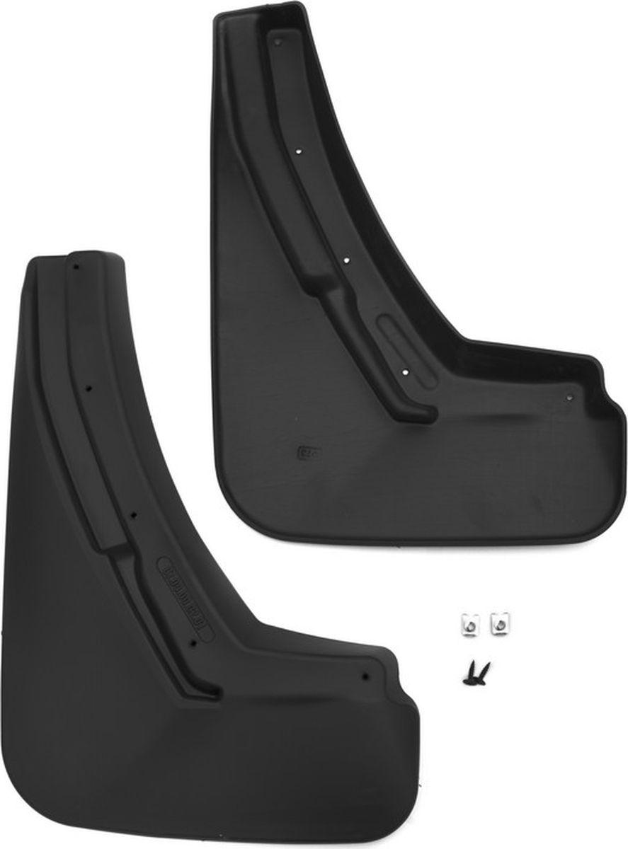 Комплект брызговиков задних Novline-Autofamily для Cadillac Escalade внедорожник, 2015-, 2 шт81014150170Комплект Novline-Autofamily состоит из 2 задних брызговиков, изготовленных из высококачественного полиуретана. Изделия эффективно защищают кузов автомобиля от грязи и воды, формируют аэродинамический поток воздуха, создаваемый при движении вокруг кузова таким образом, чтобы максимально уменьшить образование грязевой измороси, оседающей на автомобиле. Разработаны индивидуально для каждой модели автомобиля. С эстетической точки зрения брызговики являются завершением колесных арок.