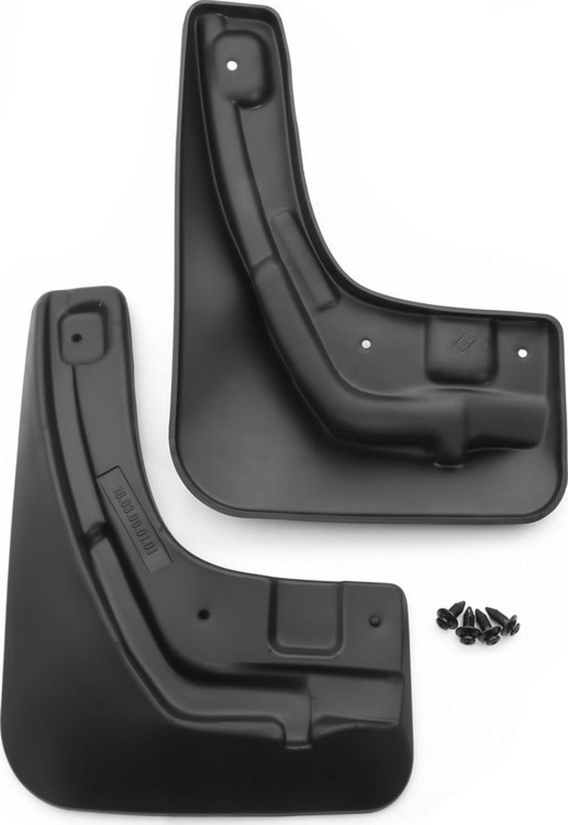 Комплект брызговиков передних Novline-Autofamily для Ford Focus, 2004-2011, 2 шт. NLF.16.03.F11NLF.16.03.F11Комплект Novline-Autofamily состоит из 2 передних брызговиков, изготовленных из высококачественного полиуретана. Изделия эффективно защищают кузов автомобиля от грязи и воды, формируют аэродинамический поток воздуха, создаваемый при движении вокруг кузова таким образом, чтобы максимально уменьшить образование грязевой измороси, оседающей на автомобиле. Разработаны индивидуально для каждой модели автомобиля. С эстетической точки зрения брызговики являются завершением колесных арок.